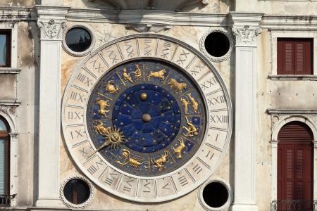 clocktower: Venice, Torre dell Orologio - St Marks clocktower.