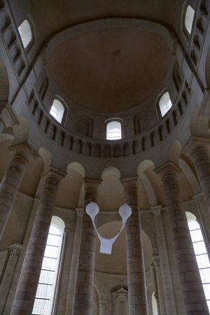 chinon: Fontevraud Abbey - Loire Valley , France Editorial
