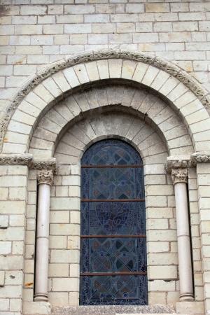 chinon: Fontevraud Abbey - Loire Valley , France Stock Photo