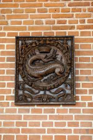 The salamander - the symbol of Francis, the king  of France