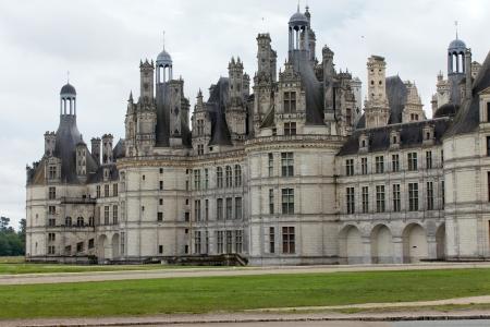 Northwest façade of the Château de Chambord