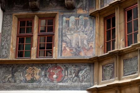 fachwerk: Half timbered houses of Colmar, Alsace, France