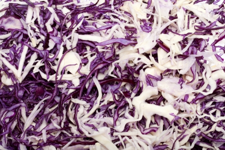 savoy cabbage: White and Red  Cabbage