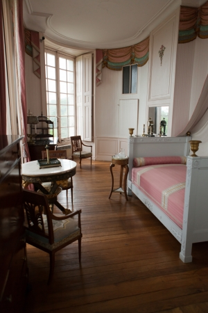rooms in the castle Valencay. Loire Valley. France Stock Photo - 25142866