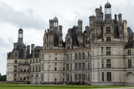 chambord: Castle of Chambord in Cher Valley, France