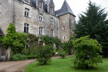 touraine: Castle of Montresor in the Loire Valley