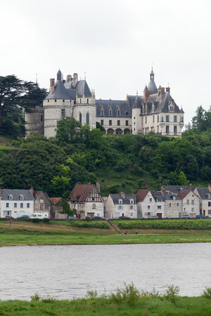Chaumont-sur-Loire castle.  Chaumont castle  is one of the oldest chateaux of Loire.