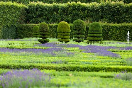 usse: ornamental garden Stock Photo