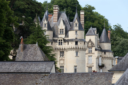 usse: Castel of Rigny-Usse   Known as the Sleeping Beauty Castle and built in the eleventh century. Loire Valley, France