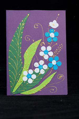 Handmade easter card photo