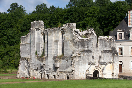 henry: Chartreuse du Liget - Cartusian monastery founded by the Plantagenet king Henry II. Loire Valley, France