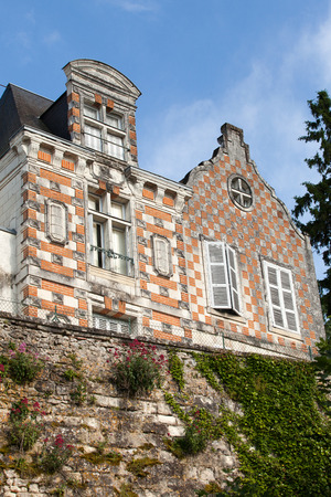 small country town: Loches the charming small country town in the valley of Loire