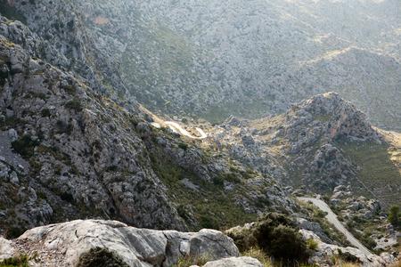 high sierra: Serra de Tramuntana - mountains on Mallorca, Spain