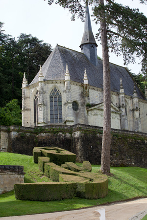 usse:  Rigny-Usse - Chapel of castle . Loire Valley, France