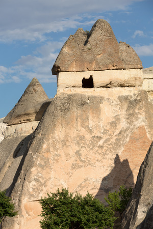Rock formations in Goreme National Park. Cappadocia,  Turkey photo