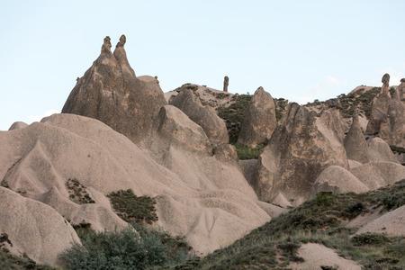 Rock formations Cappadocia,  Turkey photo