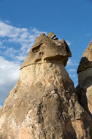 Rock formations in Goreme National Park. Cappadocia,  Turkey photo