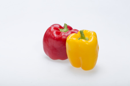 bell peper: sweet pepper isolated on white background Stock Photo