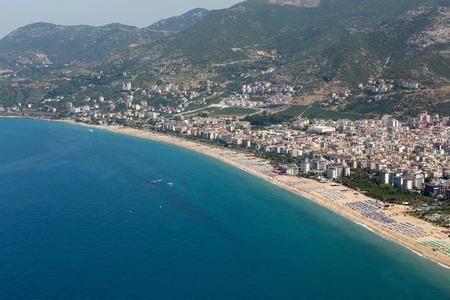 alanya: Alanya - the beach of Cleopatra .  Alanya is one of most popular seaside resorts in Turkey Stock Photo
