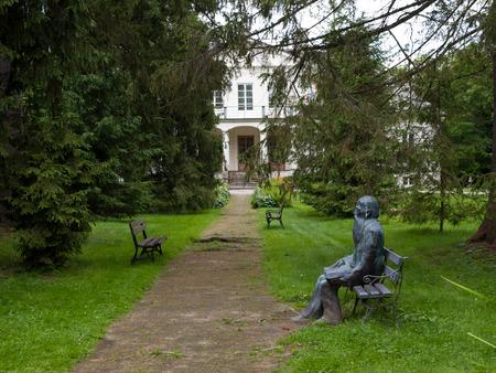 residental: Museum of Jozef Ignacy Krzaszewski in Romanow. Poland Editorial