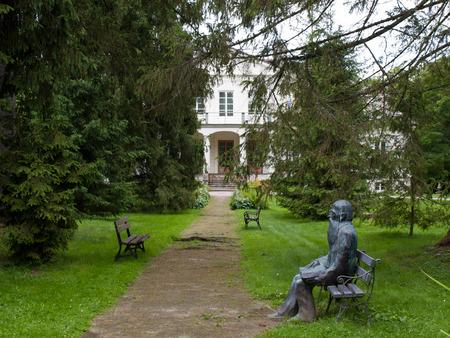 whitem: Museum of Jozef Ignacy Krzaszewski in Romanow. Poland Editorial
