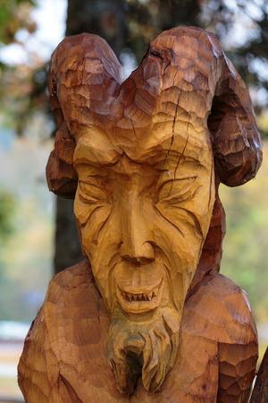 beldam: Fairy-like wooden figures from primaeval Slawic tales