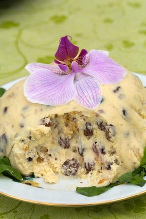 quark: Quark dessert, paskha, Russian Easter sweet treat