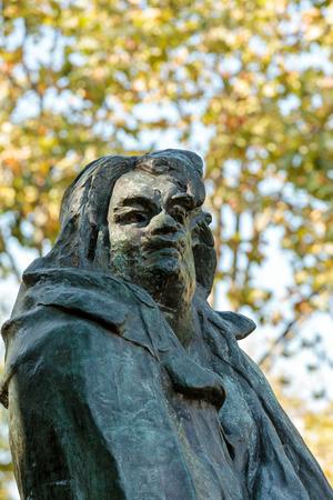 rodin: Paris - Rodin Museum.The Monument to Balzac