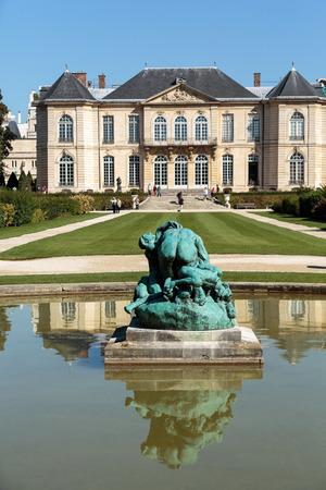 rodin: Rodin Museum in Paris. France.