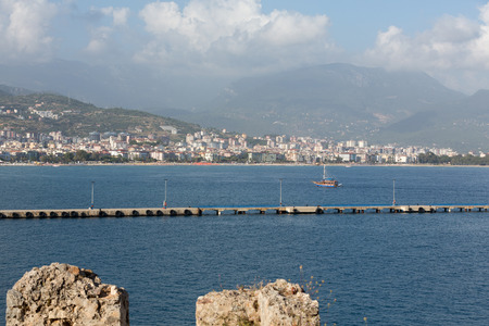 alanya: Alanya - the beach of Aladdin .  Alanya is one of most popular seaside resorts in Turkey