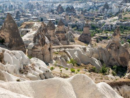goreme: Love valley in Goreme national park. Cappadocia, Turkey