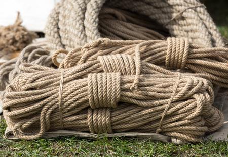 bobina: rollo de cuerda