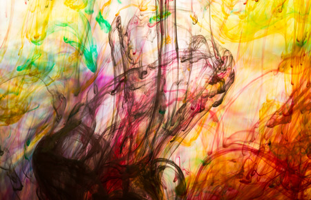 Abstracte en zeer kleurrijke motion blur achtergrond Stockfoto