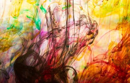 arte moderno: Resumen de fondo y muy colorido desenfoque de movimiento