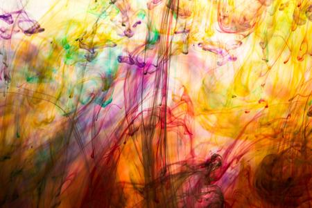 abstrakt: Abstrakt och mycket färgstark rörelseoskärpa bakgrund