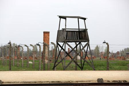 birkenau: Auschwitz II Birkenau. Poland. The biggest   concentration camp in Europe and now the State Museum Auschwitz-Birkenau.