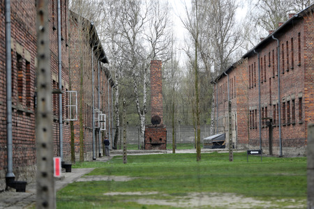 annihilation: Buildings in the former German concentration camp in Oswiecim, Poland Oswiecim was the largest German concentration camp in Poland during World War II.