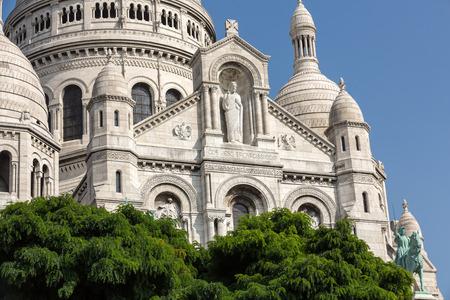 france: Basilica of the Sacre Coeur on Montmartre, Paris, France