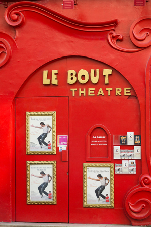 bout: Paris, Montmartre - Facade of Le Bout Theatre