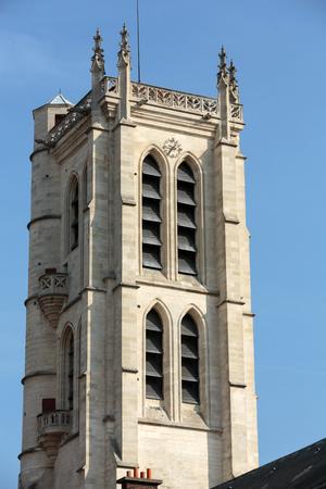 secondary school: Paris -  Clovis bell tower. Henry IV High School, Public Secondary School Located in Paris,