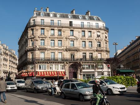 garret: Paris -  dEstienne dOrves Square. Typical parisian architecture