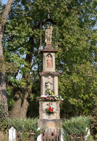 wayside: Old Wayside shrine in Wieliczka near Cracow. Poland