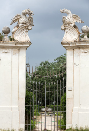 villa borghese: The winged dragon of Villa Borghese, Rome