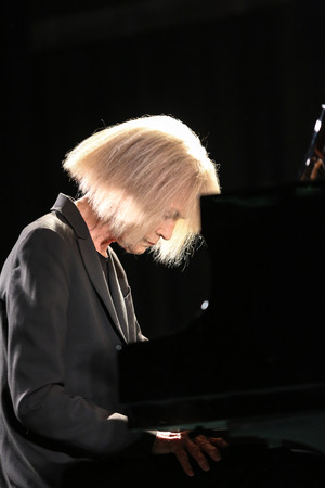 all souls day: CRACOW, POLAND - NOVEMBER 3, 2015: Carla Bley Trios playing live music at The Cracow Jazz All Souls  Day Festival in Cracow. Poland