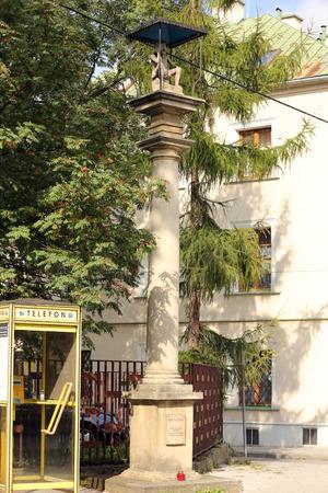 wayside: Old Wayside shrine in Skawina near Cracow. Poland