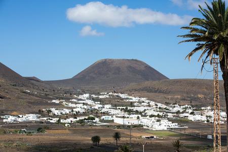lanzarote: Village Uga on Canary Island Lanzarote, Spain Stock Photo