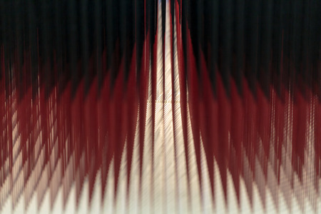 lens brush: Red and black abstract glowing background Stock Photo