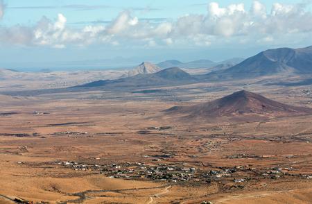mirador: Panoramic view of Fuerteventura from Mirador Morro Velosa, Fuerteventura, Canary Island, Spain