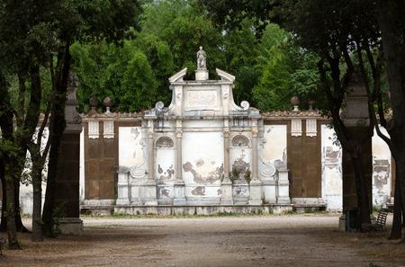 villa borghese: Teatro in Garden of Villa Borghese. Rome, Italy