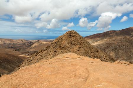 fuerteventura: Beautiful volcanic mountains on  Fuerteventura. Canary Islands. Fuerteventura. Canary Islands